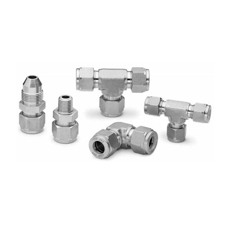SMO 254 UNS S31254 Ferrule Tube Fittings