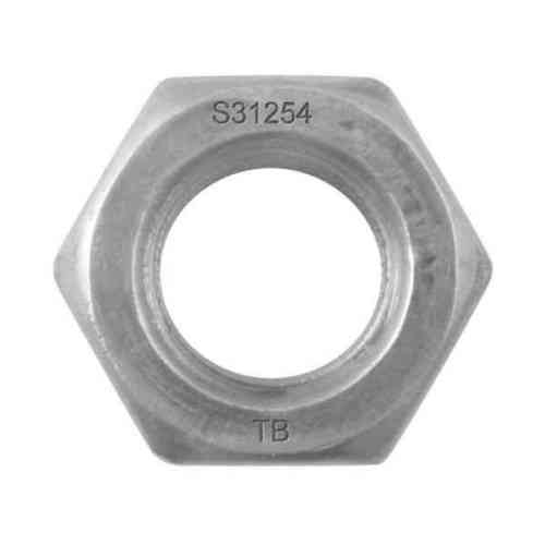 SMO-254-UNS-S31254-Hexagon-Nut