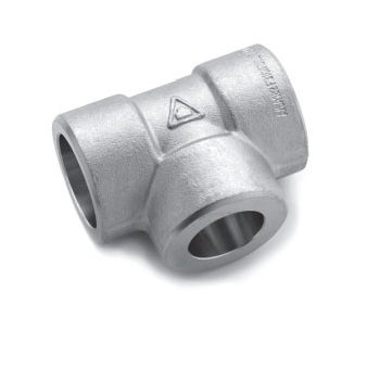 UNS-C71640-Forged-Socket-Weld-Tee